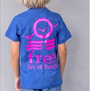 Other - Free in St Barth unisex kids short sleeves tshirt